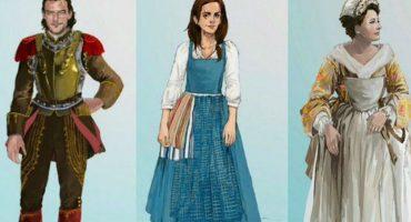 Estas imágenes nos presentan a los personajes de la película The Beauty and the Beast