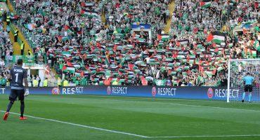 Fans del Celtic donarán 100 mil libras a organizaciones palestinas