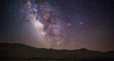 Así se ve el cielo nocturno a través de los niveles de contaminación lumínica