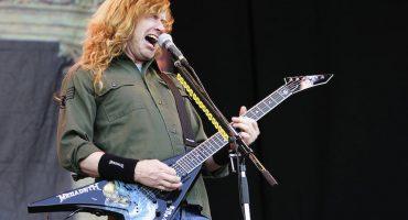Apuñalan a fan en un concierto de Megadeth y Dave Mustaine lo va a visitar al hospital