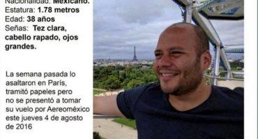 Profesor mexicano desaparece en Francia, SRE e Interpol inician busqueda