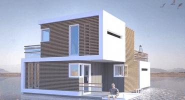 Diseñadores crean una casa que se puede separar cuando te divorcias