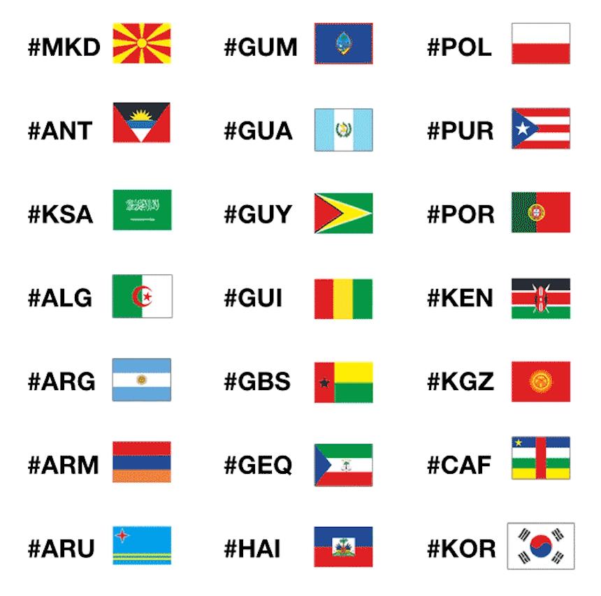 ¡Ya llegaron los emojis para los Juegos Olímpicos!