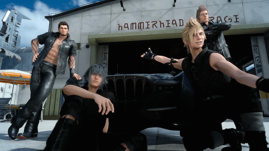 Final Fantasy XV Lanzamiento