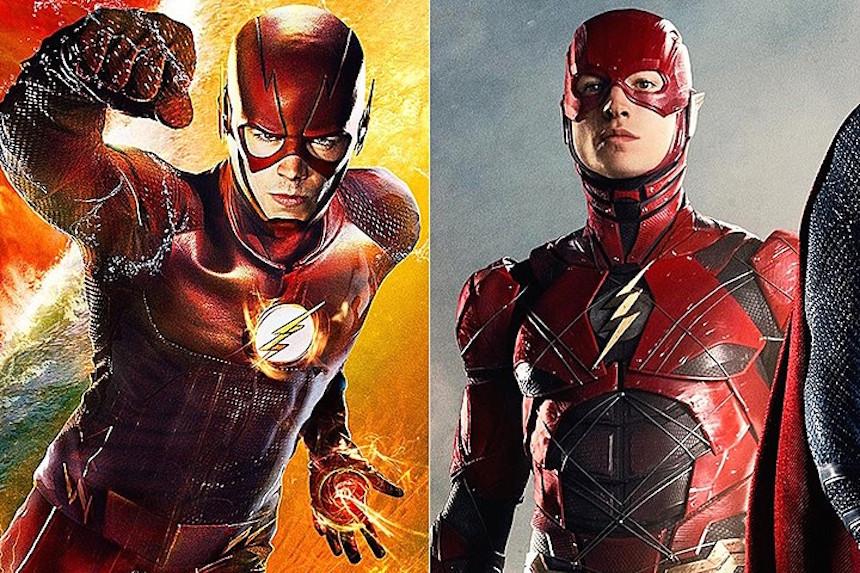 Ezra Miller quiere que los dos Flash se encuentren