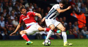 West Bromwich y Middlesbrough no se hacen daño en la Premier League
