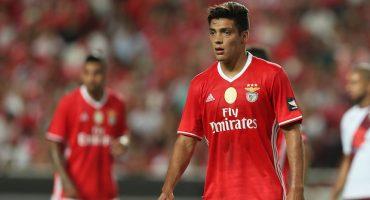 Raúl Jiménez marcó el empate para el Benfica ante el Setúbal