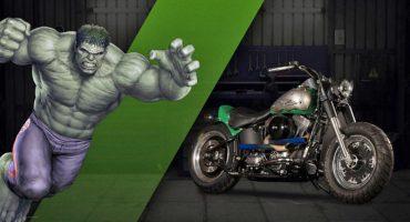 Harley Davidson y Marvel se unen para crear unas motos increíbles