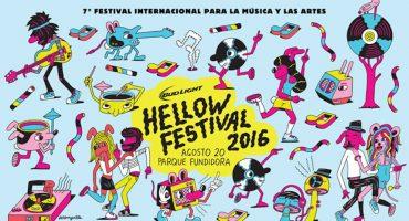 Conoce el trabajo de Jeremyville, el artista detrás del Hellow Festival