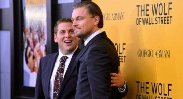 Así asustó Leonardo DiCaprio a Jonah Hill en las calles de Nueva York