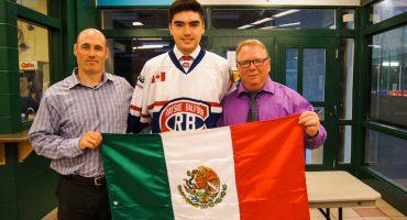 Mexicanos chingones: Jorge Pérez, representante del hockey azteca en Canadá