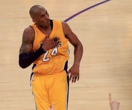 Kobe Bryant en su último juego