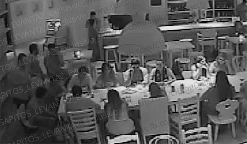 Filtran video del 'levantón' en restaurante de Puerto Vallarta