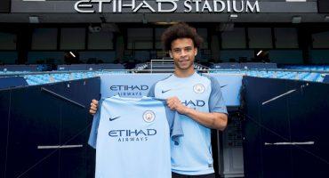 Leroy Sané, la joya del futbol alemán, se une al Manchester City