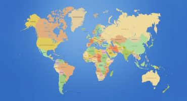 Un mapa del mundo de acuerdo al tamaño de senos de las mujeres