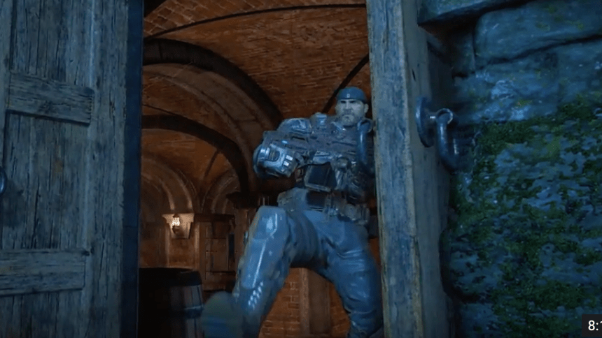 Marcus Fenix regresa con todo en este video de Gears of War 4