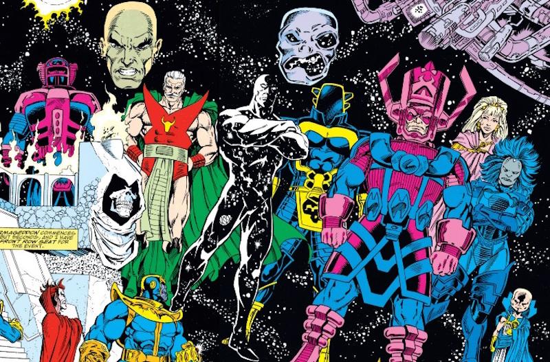 Entidades Cósmicas Marvel