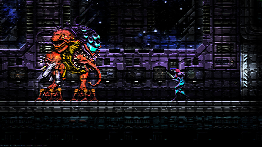 Metroid: Samus vs Sa-X