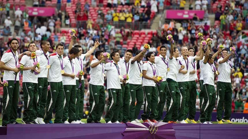 Hace cuatro años México se bañaba de oro con el futbol