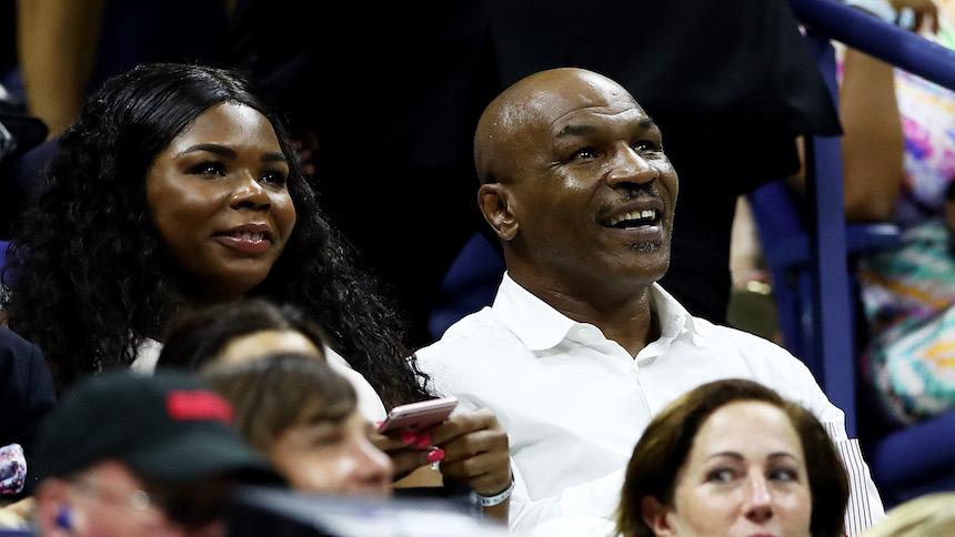 Acusan a Mike Tyson de robar helado en el US Open