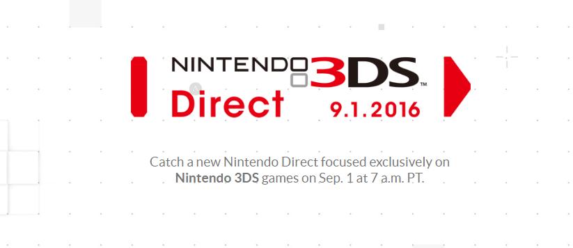 Nintendo Direct 3DS