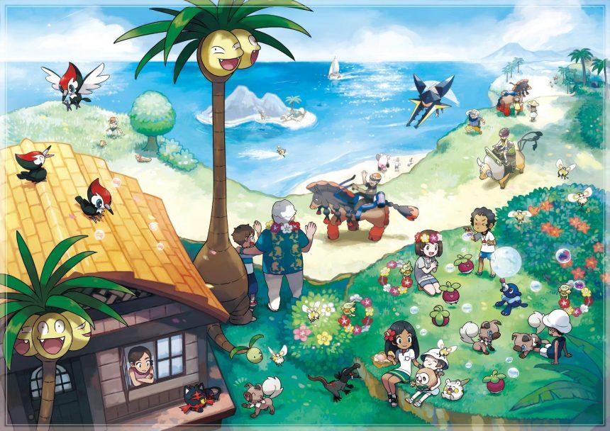 Se revelan nuevos detalles de Pokémon Sun/Moon