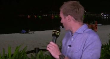 Río 2016: Durante transmisión en vivo pareja es captada teniendo sexo