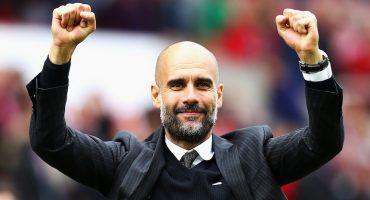 Guardiola ya tiene su propio cántico en las gradas del Manchester City