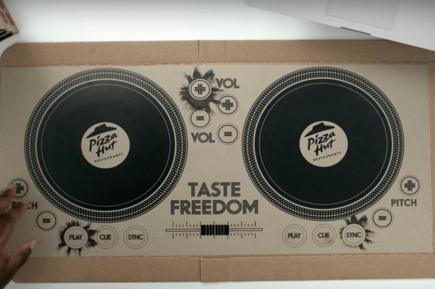 Pedir pizza en Reino Unido te puede convertir en DJ