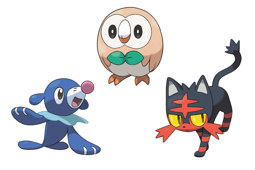 Se filtran las posibles evoluciones de los starters de Pokémon Sun/Moon