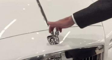 ¿Qué pasa si tratas de robar el adorno del cofre de un Rolls-Royce?