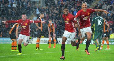 Marcus Rashford le da el triunfo al Manchester United
