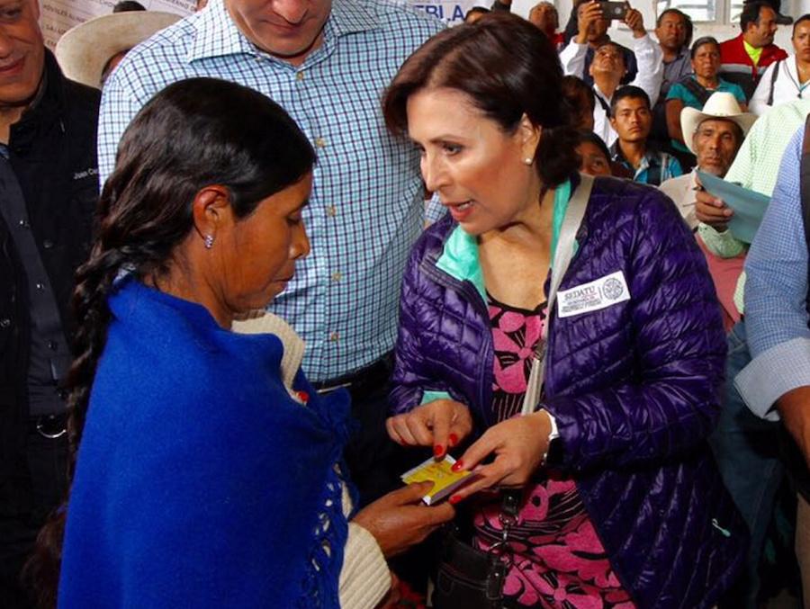 Durante la gestión de Rosario Robles al frente de Sedesol se desviaron millones de pesos