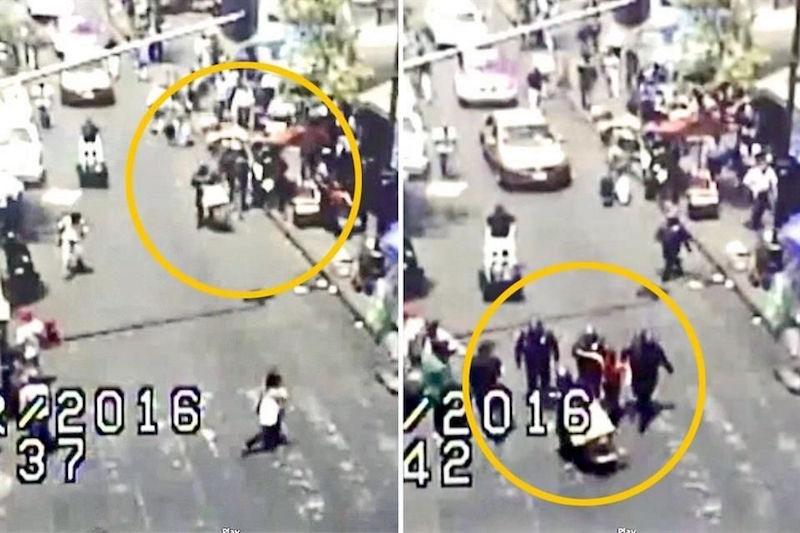 Captan a policías de la CDMX secuestrando a una comerciante china