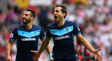Con doblete de Stuani, el Middlesbrough se lleva la victoria ante el Sunderland