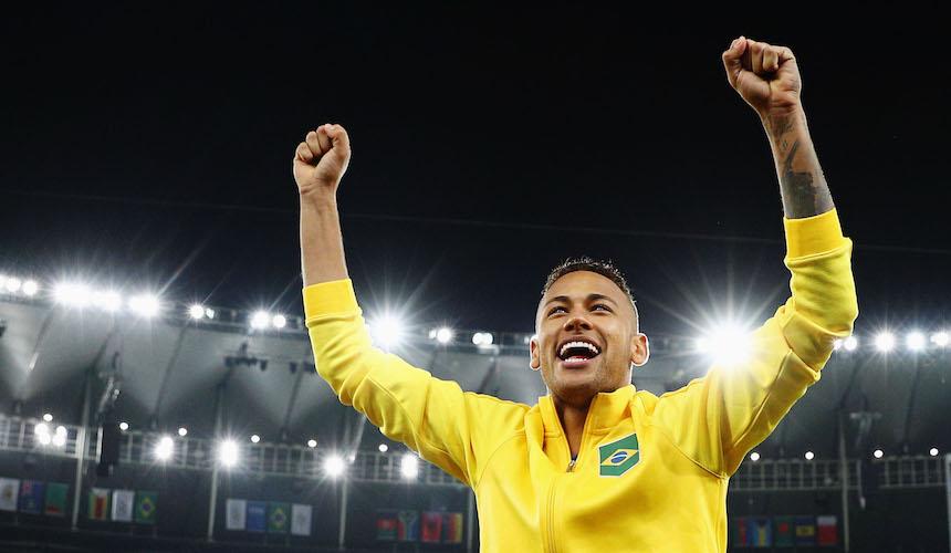 Neymar se tatuó para recordar por siempre su medalla de oro