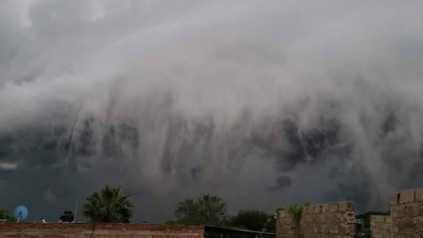 ¿Qué diablos le pasó al cielo en Tonalá?