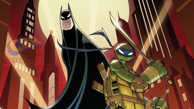 Batman/Tortugas Ninja Crossover