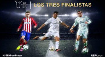 Cristiano, Bale y Griezmann los tres finalistas para convertirse en el mejor jugador de la UEFA