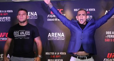 Todo listo para el regreso de la UFC en México