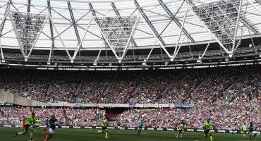 La Premier League llega a la cancha del Estadio Olímpico de Londres