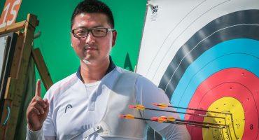 Kim Woo-Jin rompe la primera marca de los Juegos Olímpicos de Río de Janeiro