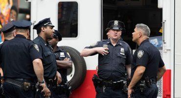 Reportan a 5 sospechosos detenidos por bomba en Manhattan