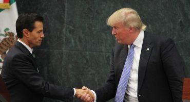¡Gracias Enrique!: Trump repunta en las encuestas tras su visita a México