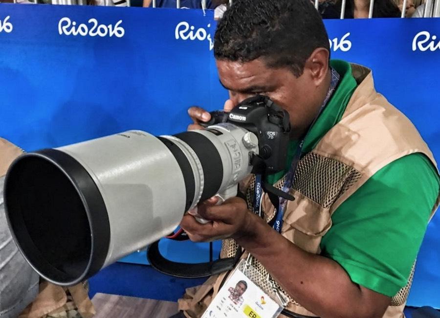 Conozcan a João Maia, el fotógrafo invidente de los Paralímpicos de Río