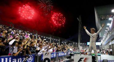 Nico Rosberg se lleva el GP de Singapur y es nuevo líder en la F1