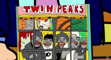"""Déjate llevar por el nuevo video de Twin Peaks para """"Holding Roses"""""""