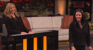 ¡Tienen que ver la trivia de Friends que hicieron Lisa Kudrow y Courteney Cox!