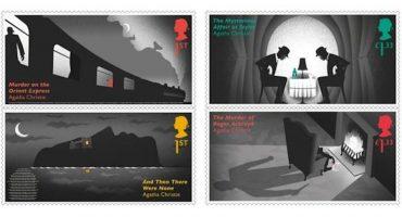 Reino Unido celebró el aniversario de Agatha Christie con estas fabulosas estampillas
