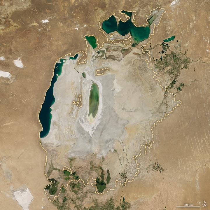 ¿Cómo la mano del hombre secó uno de los lagos más grandes del mundo?